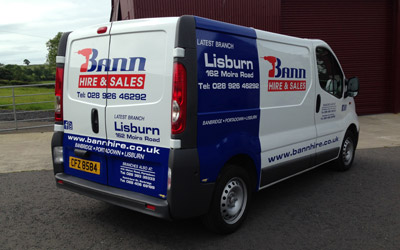Lorry Wraps for Graphics